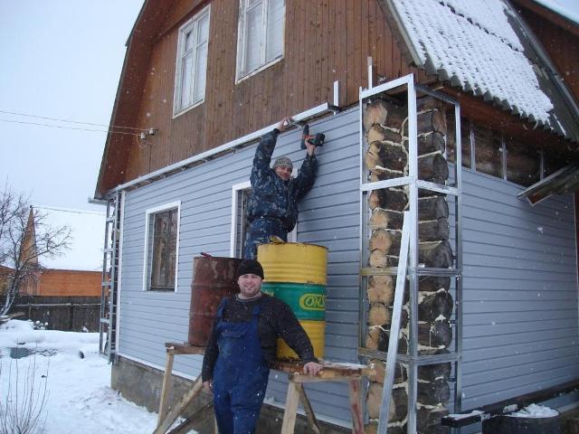 Как правильно обшить дом своими руками