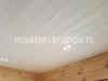 Потолок - один слой покраски