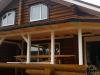 Отделка деревянной террасы