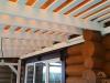 Стропильная система крыши террасы