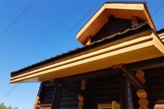 Покраска и подшив свесов крыши