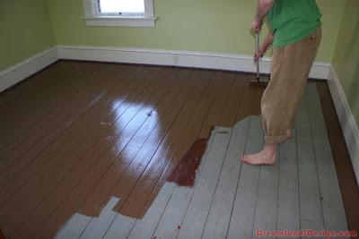 Чем покрасить деревянный пол - Всё о напольных покрытиях