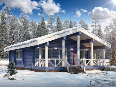 Выбор краски для деревянного дома цветами