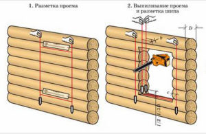 Как правильно сделать окосячку в бревенчатом доме своими руками || Как выбрать паз в брусе под окосячку