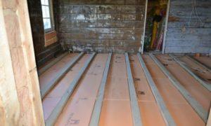 Как обшить деревянный дом пеноплексом